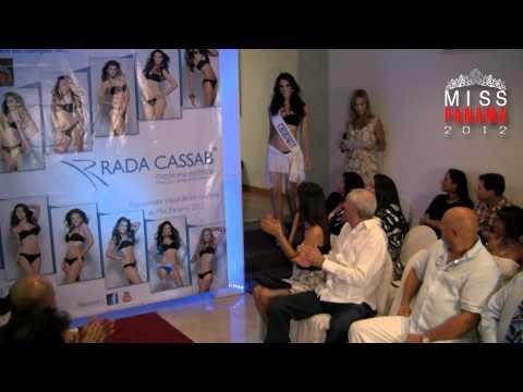 Miss Panamá 2012, Pasarela en Rada Cassab