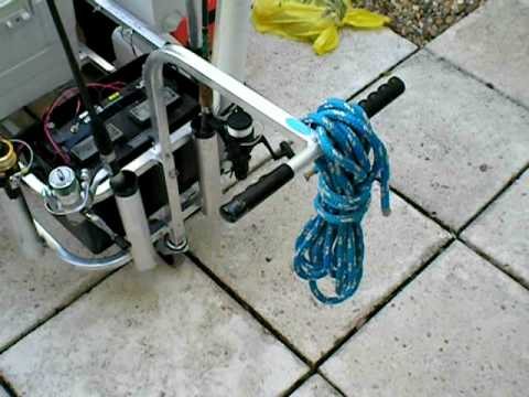 The ultimate fishing cart youtube for Homemade fishing cart