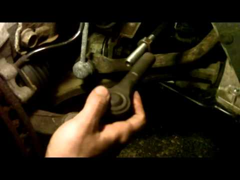 How to Install Outter Tie rod ends 2003 Dodge Caravan