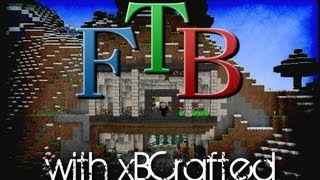Minecraft Feed the Beast - Ep 13 - Wither Skeleton Spawner!