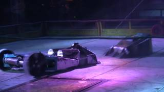 Robot Wars Portsmouth 2014 - Ripper vs Titan vs Tough as Nails vs Maelstrom