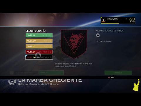 Destiny - Como subir de nivel después del Nivel 20