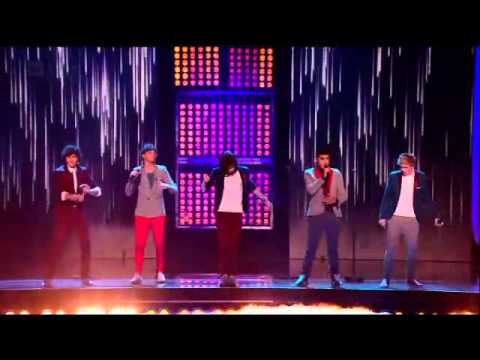 One Direction - Gotta Be You LIVE - X Factor