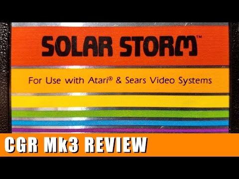 Classic Game Room - SOLAR STORM review for Atari 2600