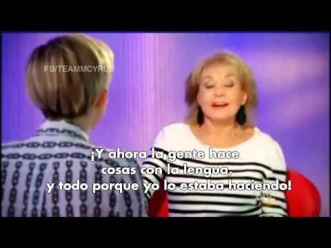 Entrevista de Miley con Barbara Walters - Traducida al Español