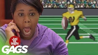 American Football Pranks - Best of Just For Laughs Gags