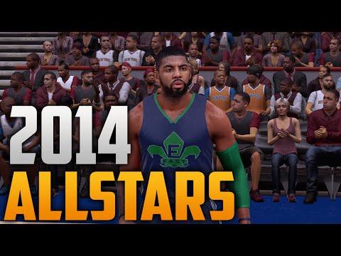 NBA 2K16 2014 NBA Allstar Jersey & Court Tutorial
