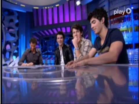 Jonas Brothers en El Hormiguero part 3 (interview)