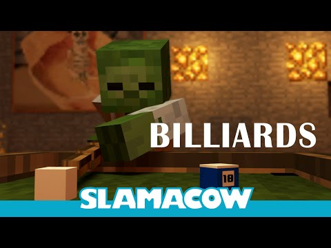 Billiards with Dave - Minecraft Animation