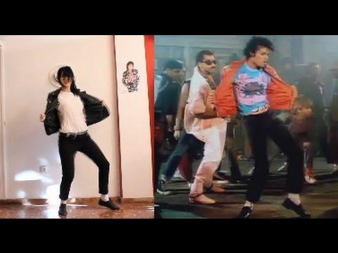 //Michael Jackson-Beat it// Dance part