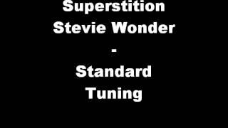 Superstition Stevie Wonder Standard Tuning