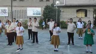 Year of Faith Theme: Live Christ Share Christ (Colegio de Santa Ana, Taguig)