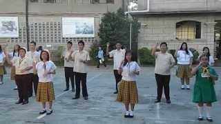 Year of Faith Theme: Live Christ Share Christ (Colegio de Santa Ana, Taguig)