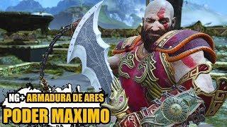 GOD OF WAR NG+  QUESTS E ARMADURA DE ARES LEVEL MAXIMO