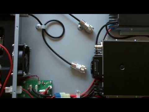 Coax Jumper Mod on K9RRD ID-RP400 D-STAR Repeater Module 3of4