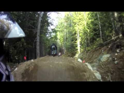 Whistler Mountain Bike Park: A-Line, Double Vision, Spinal Tap
