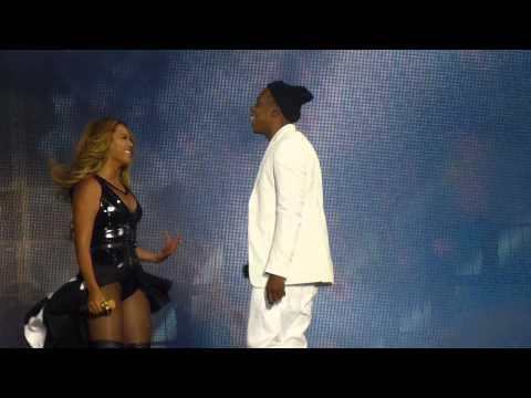 Beyoncé & Jay-z - On The Run (13 sept, On The Run Tour - Paris France, Stade de France) HD