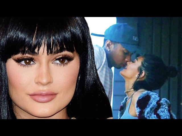 Kylie Jenner & Tyga First Public Make Out In New Music VIDEO