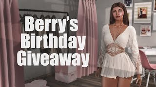 Berry's Birthday Giveaway 2018 - Logo Gift Card in Second Life