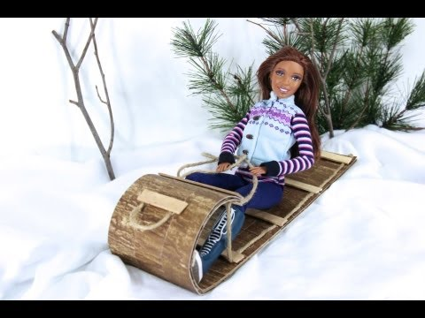 How to Make a Doll Sled
