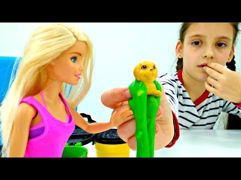 Барби и щенки 🎁 Подарок Штеффи на День Рождения! Мультик #Барби ♥️ Видео с куклами Barbie