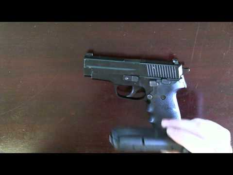 Sig P228 Tabletop and Range Review