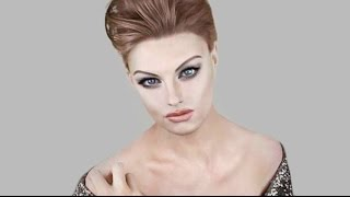 Supermodel Makeup - Linda Evangelista Tutorial