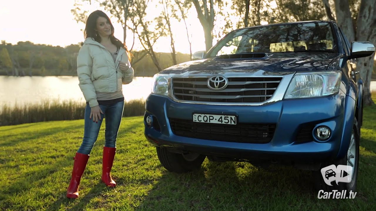 Toyota Hilux 2014 Sr5 Review Youtube