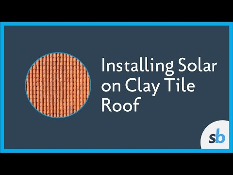 Installing Solar on Clay Tile Roof