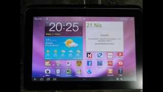 Samsung Galaxy Tab 10.1 3G 16 GB black