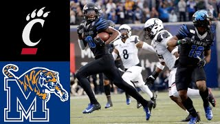 #19 Cincinnati vs #18 Memphis Highlights | NCAAF Week 14| College Football Highlights
