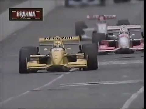 LARGADA ESPETACULAR do GP da Austrália de 1995: Pole Position Michael Andretti