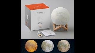 (Episode 2026) Amazon Prime Unboxing:  LA HOMIETA Night Light 3D Moon Surface NASA Lamp @amazon