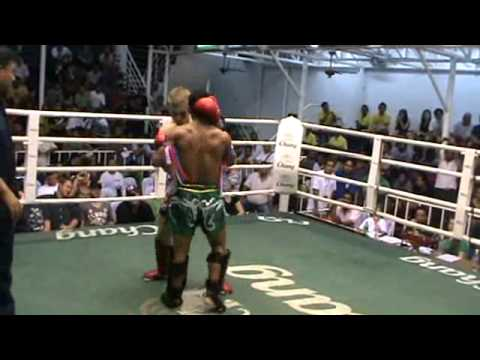 Muay Thai Sparring Knockout Muay Thai Sparring Contest