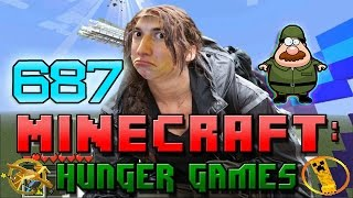 Minecraft: Hunger Games w/Bajan Canadian! Game 687 - EPIC BOW KILLS