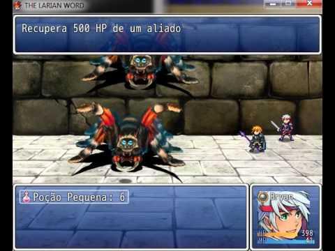 Meu primeiro jogo criado  RPG MAKER VX ACE (The Larian Word)