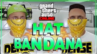 GTA 5 Online - Best Bandana Glitch! Hat Bandana! Cool Outfits! GTA 5 Glitches!