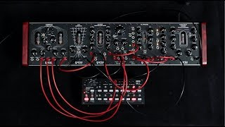Erica Synths Fusion Drone System sequenced