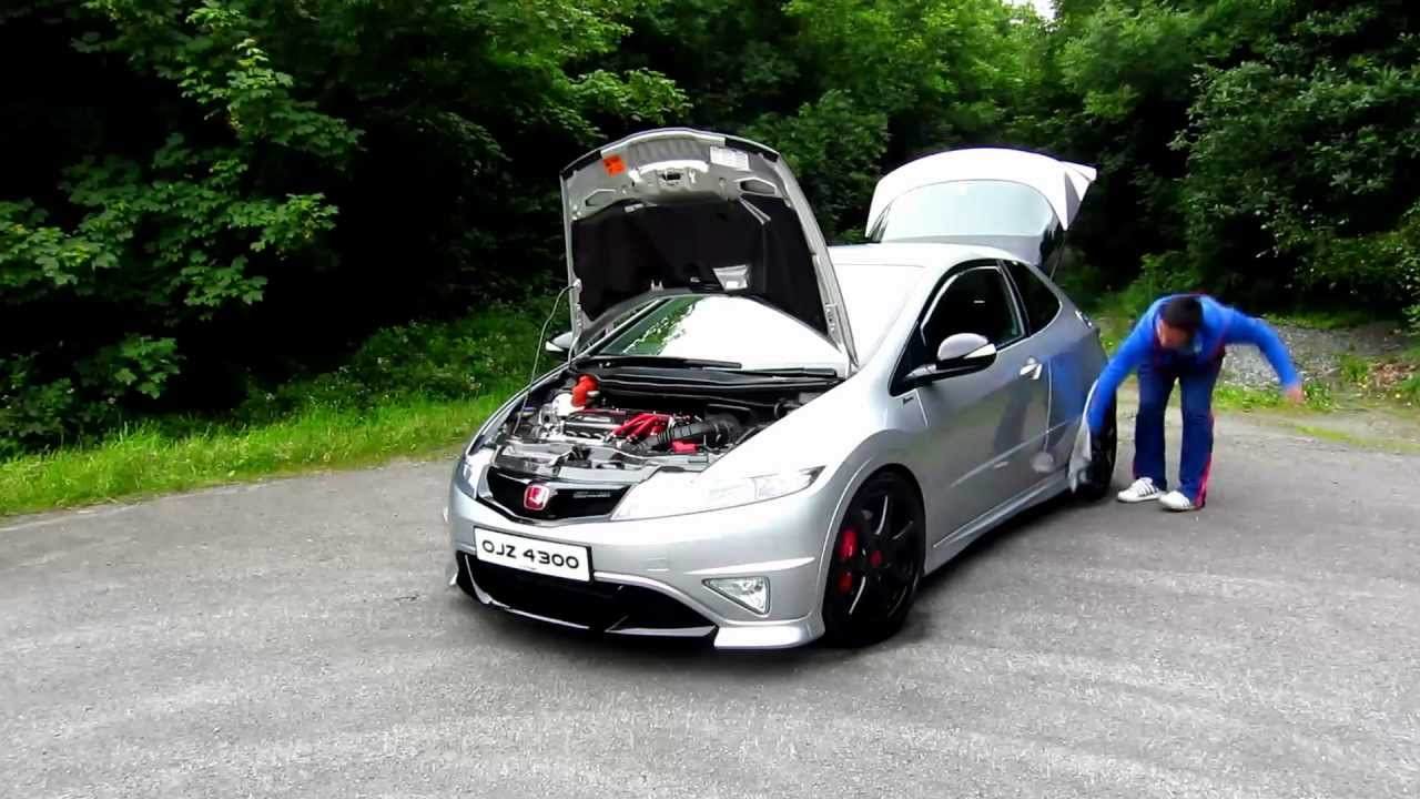 2008 Honda Civic Type R FN2 - YouTube