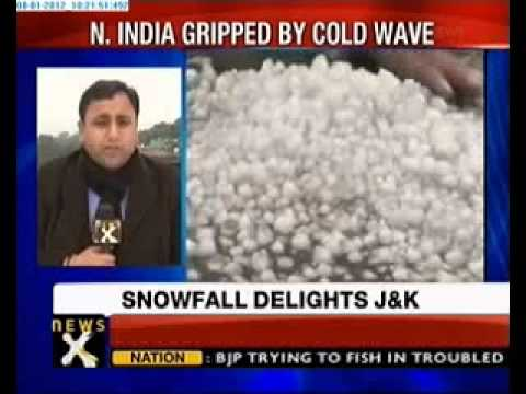 Pathankot Witnesses snowfall after 3 decades