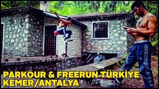 Best Parkour and Freerunning Mix Turkey / Antalya / Kemer 2017