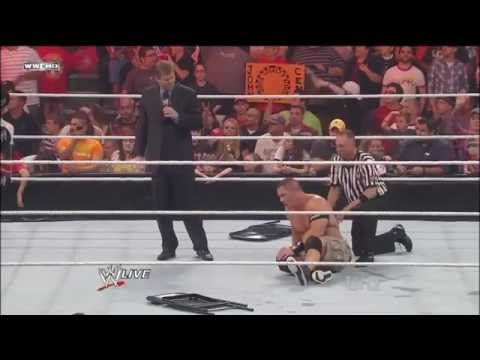 John Cena (Heel Turn) vs. Kane Part 1 - WWE Royal Rumble 2012...