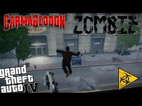 GTA IV Carmageddon+Zombie Apocalypse Mod - Part 5 - Because Just Crazy Cars Was