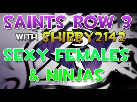 Saints Row 3 vs. Gilbert Kitty Scarf  - Any interest in more videos? If so. of what? Let me know!