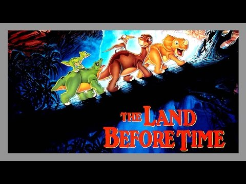(1988) 'The Land before time' Trailer