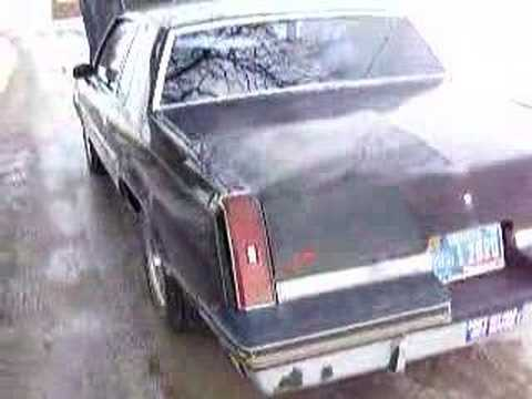 1986 Cutlass 442, 307 V8 Video