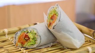 Super Sushi Burrito Recipe