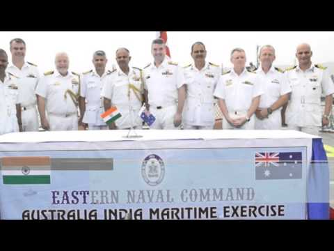 India and Australia strengthening their defence ties