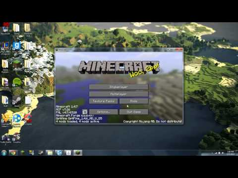 Minecraft 1.4.7 - How To Install Galacticraft Server
