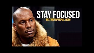 Tyrese Gibson: STAY FOCUSED (Tyrese Gibson Motivation)